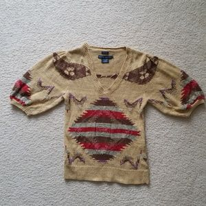 Ralph Lauren Blue Label Hand Knit Sweater